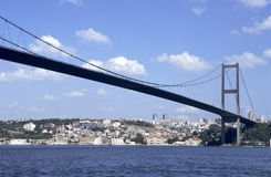 Bosporus bridge stock image