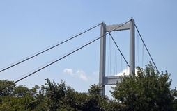Bosporus bridge Royalty Free Stock Image