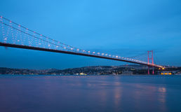 Bosporus Bridge Stock Photography