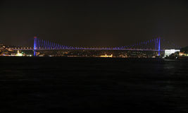 Bosporus Bridge, Istanbul Royalty Free Stock Photos