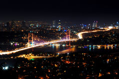 Bosporus Bridge, Istanbul Royalty Free Stock Photography