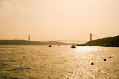 Bosporus Bridge Istanbul, Turkey Stock Photo
