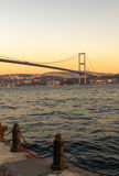 The Bosporus Bridge, Istanbul. Stock Photo