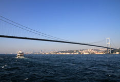 Bosporus Bridge Stock Photo