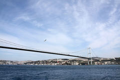 The Bosporus Bridge, Turkey Stock Photography