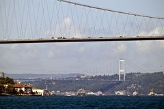 Bosporus bridges Royalty Free Stock Image
