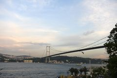 Bosporus bridges, Istanbul, Turkey Stock Photos