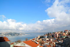 Bosporus a Costantinopoli Fotografia Stock
