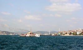 Bosporus, Costantinopoli Fotografie Stock Libere da Diritti
