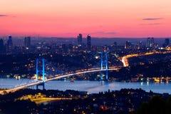 Bosporus, Estambul Foto de archivo libre de regalías