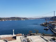 Bosporus. The Fsm Bridge Royalty Free Stock Images