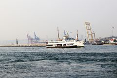 Bosporus i prom Fotografia Stock