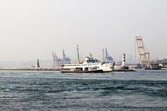 Bosporus i prom Obraz Royalty Free