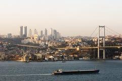bosporus indyk Istanbul Obraz Royalty Free