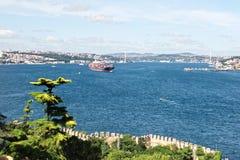 Bosporus, Istanbuł Obrazy Royalty Free