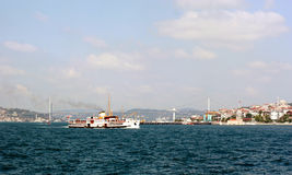 Bosporus, Istanbul Royalty Free Stock Photos