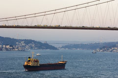 Bosporus, Istanbul -Turkey Royalty Free Stock Photo