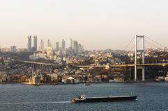 Bosporus, Istanbul -Turkey Royalty Free Stock Image