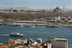 Bosporus - Istanbul - Turkey Stock Photo