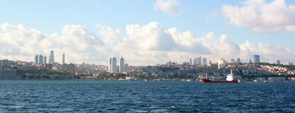Bosporus. Istanbul - Turkey Royalty Free Stock Photos