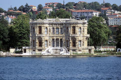 Bosporus palace Stock Photography