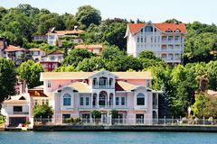 Bosporus residences Stock Photography