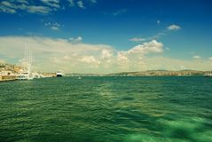 Bosporus strait Royalty Free Stock Photo