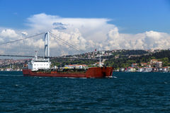 Bosporus, Turkey. Royalty Free Stock Photo