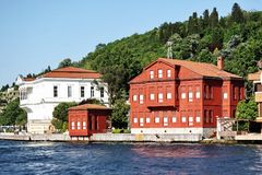 Bosporus Villas Royalty Free Stock Photo