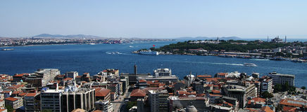 Bospurus strait, istanbul Royalty Free Stock Photo