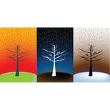 Bosque conceptual, fondo simbólico Imágenes de archivo libres de regalías