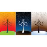 Bosque conceptual, fondo simbólico Fotos de archivo