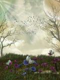 Bosque de la fantasía Imagen de archivo libre de regalías