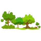 Bosque de la historieta libre illustration