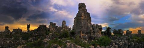 Bosque de la piedra de China Imagen de archivo libre de regalías