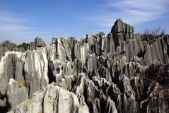 Bosque de la piedra de Shilin en Kunming, Yunnan, China Imagen de archivo