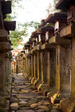 Bosque de las torres en la capilla del kasuga, Nara Japón Imagenes de archivo