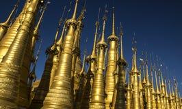 Bosque de oro Foto de archivo
