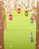 Bosque de Pascua Fotografía de archivo libre de regalías