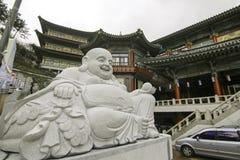 Bosque en el templo Busán Corea Imagen de archivo