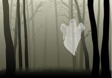 Bosque espeluznante Fotografía de archivo libre de regalías