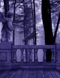 Bosque púrpura Gaurdian Imágenes de archivo libres de regalías