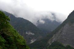 Bosque tropical cerca de los acantilados de Quingshui, Taiwán Fotografía de archivo