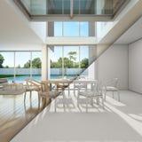 Bosqueje el diseño de reunión y de sala de estar en Ministerio del Interior Fotos de archivo libres de regalías