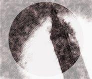 Bosquejo de Ben Clock Tower grande ilustración del vector