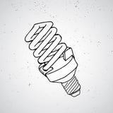 Bosquejo de la lámpara Imágenes de archivo libres de regalías