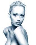 Bosquejo de la mujer de la belleza Foto de archivo libre de regalías