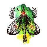 Bosquejo del elemento del tatuaje Foto de archivo libre de regalías