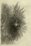 Bosquejo del lápiz stock de ilustración