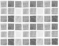 Bosquejo del lápiz, marcos Foto de archivo